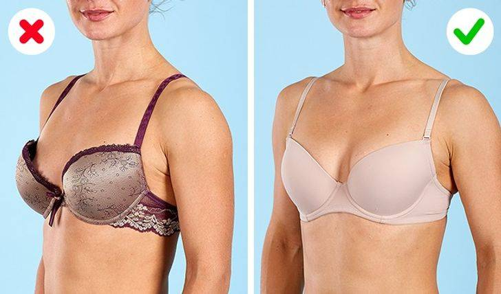 Useful advice on finding a perfect bra or a panty set