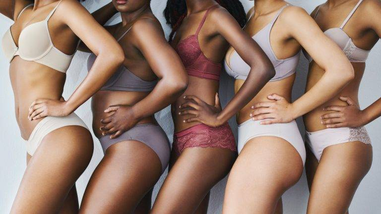 How to choose lingerie according to your body type
